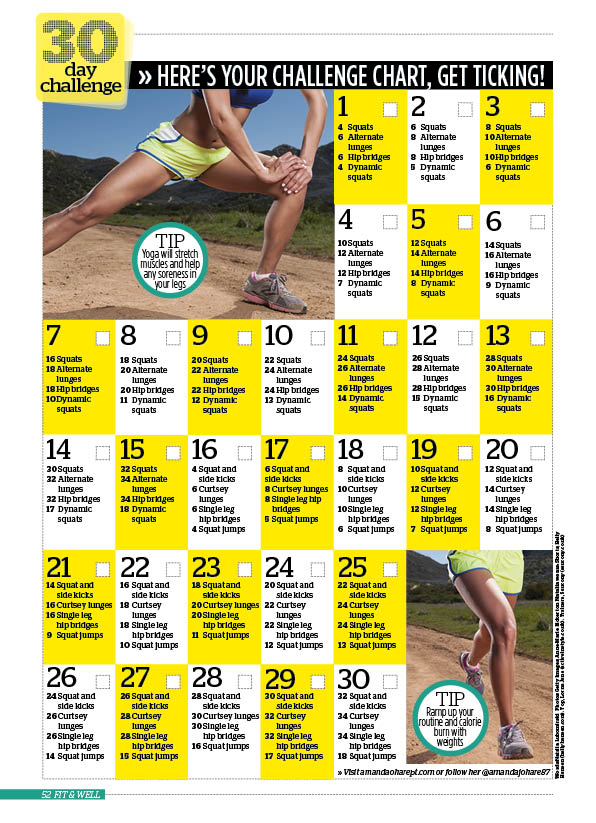 The Thigh Exercises You Need For Toned Thighs with 30 Day Inner Thigh Challenge