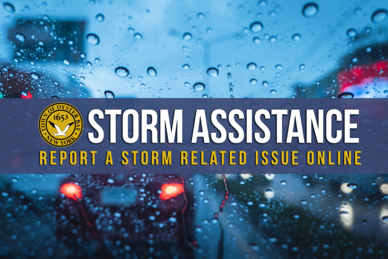 Town Of Oyster Bay Storm Assistance Form - Town Of Oyster Bay with regard to Town Of Oysterbay Town Callendar