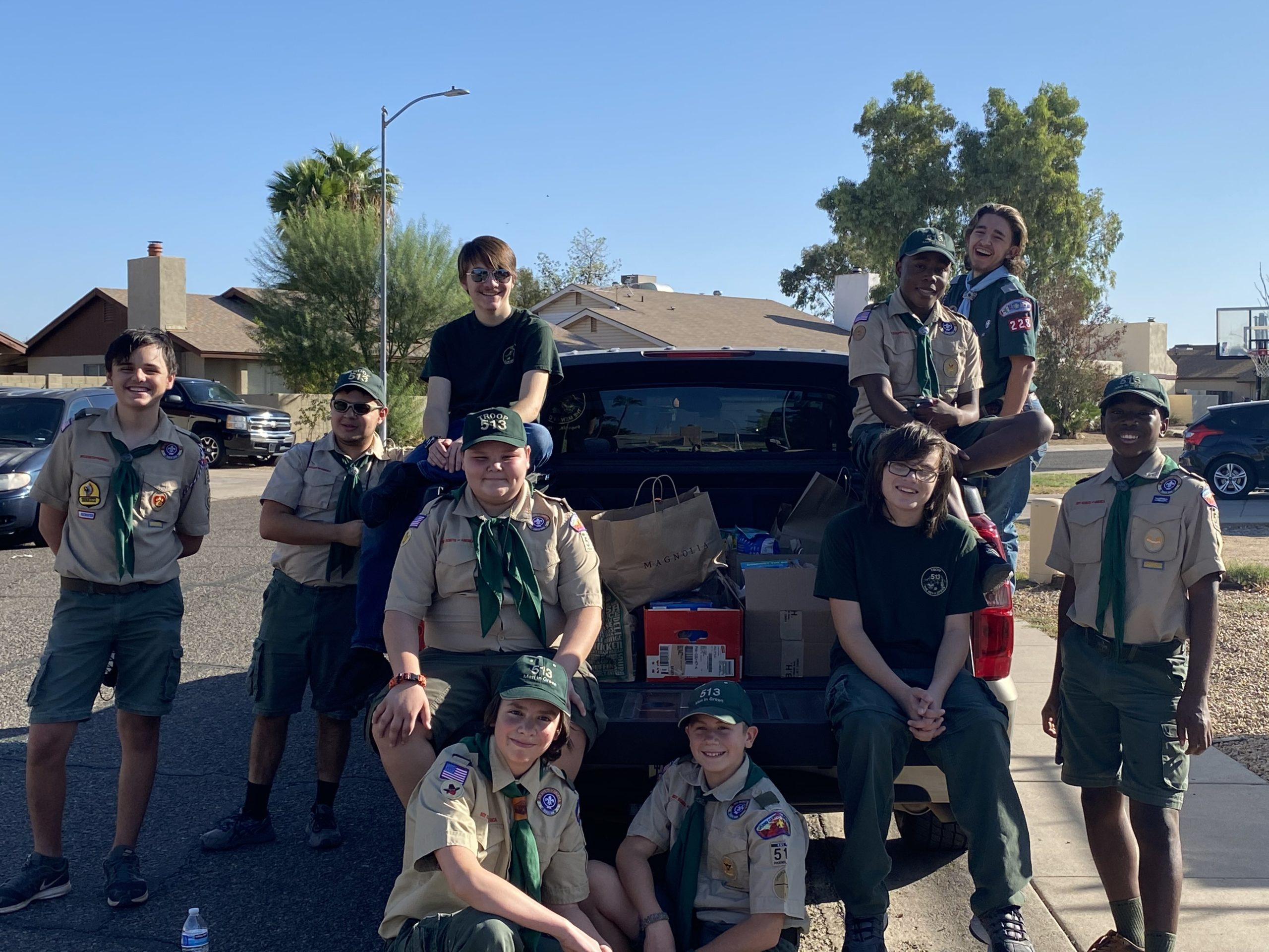 Troop 513 - Scouting For Food - Sonoran Sunset District throughout North Canyon High School Calendar Phoenix