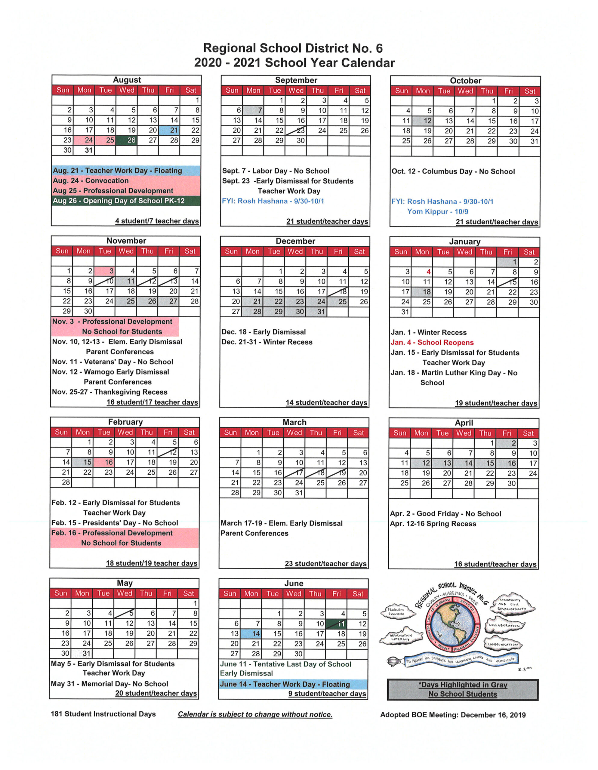 Uri Acadmic Year 2021 - 2020 Schedule | Printable Calendar throughout Nc Court Calendar Search By Name