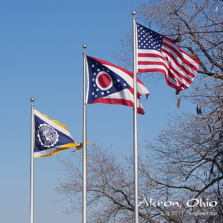 Us-Oh-Akron-Flags2011-J7 - Eflsuccess regarding Univ Of Akron Holidays
