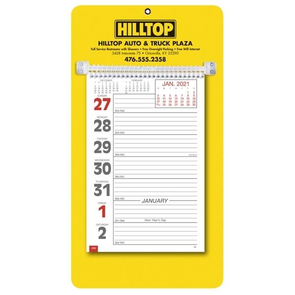 Weekly Memo 2022 Calendar - Item #4427 - Imprintitems throughout Retail 4 5 4 Calendar 2022