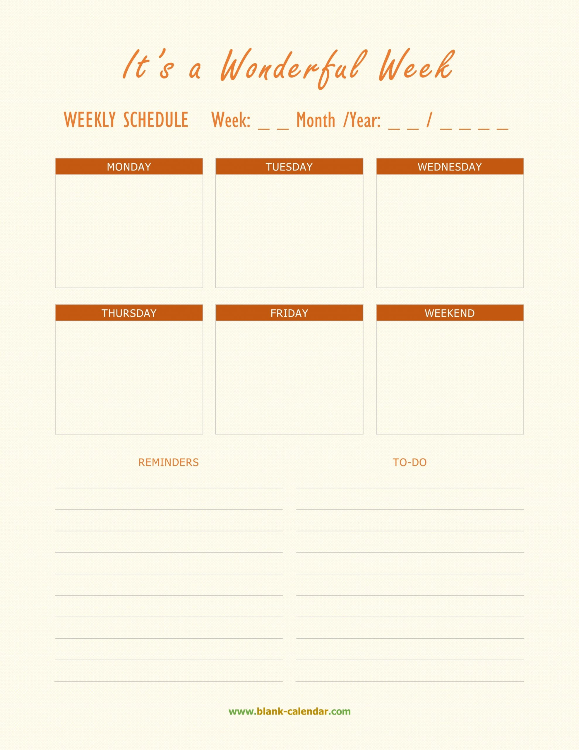Weekly Schedule Template Doc How To Have A Fantastic with regard to How To Convert Xcel Doc To Calendar