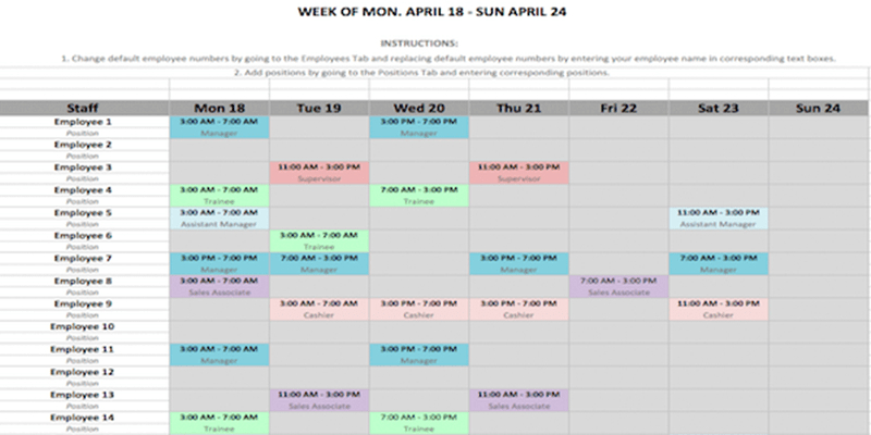 Weekly Schedule Template In Word And Excel Formats for Formate Excell To Calendar