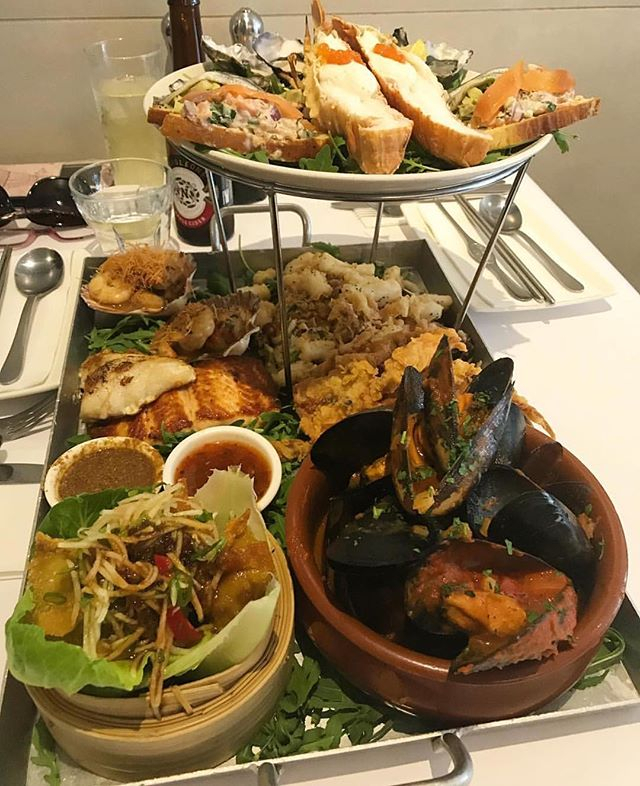 Who Needs To Dig Into One Of Our Famous Seafood Platters? 😍 Photo Credit @Foodiebebs - Richmond inside 4-5-4 Retail Calendar 2022