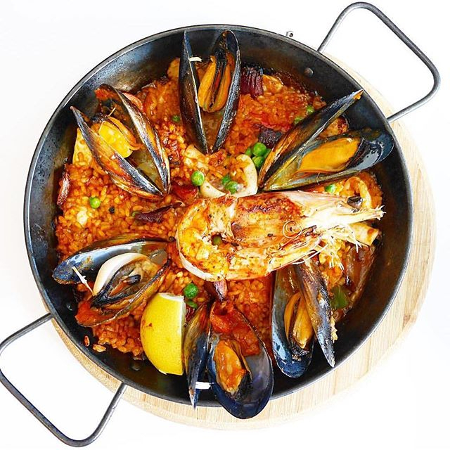 Who'S In The Mood For Some Yummy Paella? 🤤 Photo Credit And Enjoyed@Bobzbellycious intended for 4-5-4 Retail Calendar 2022