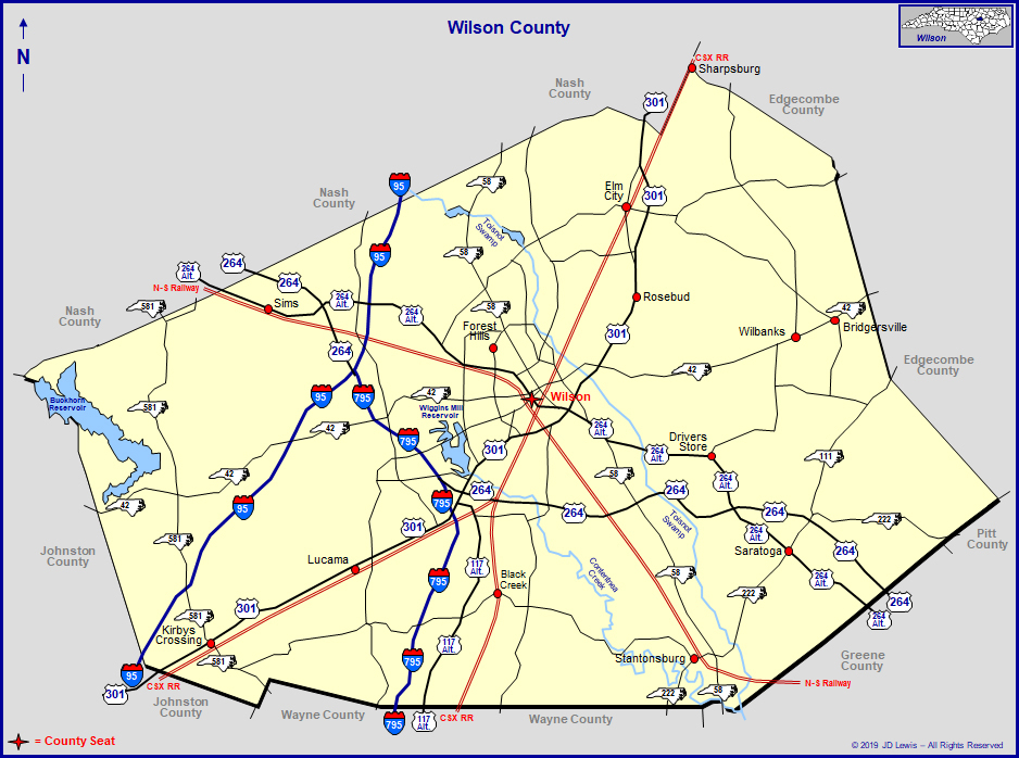 Wilson County, North Carolina in Nc Court Dates By Name