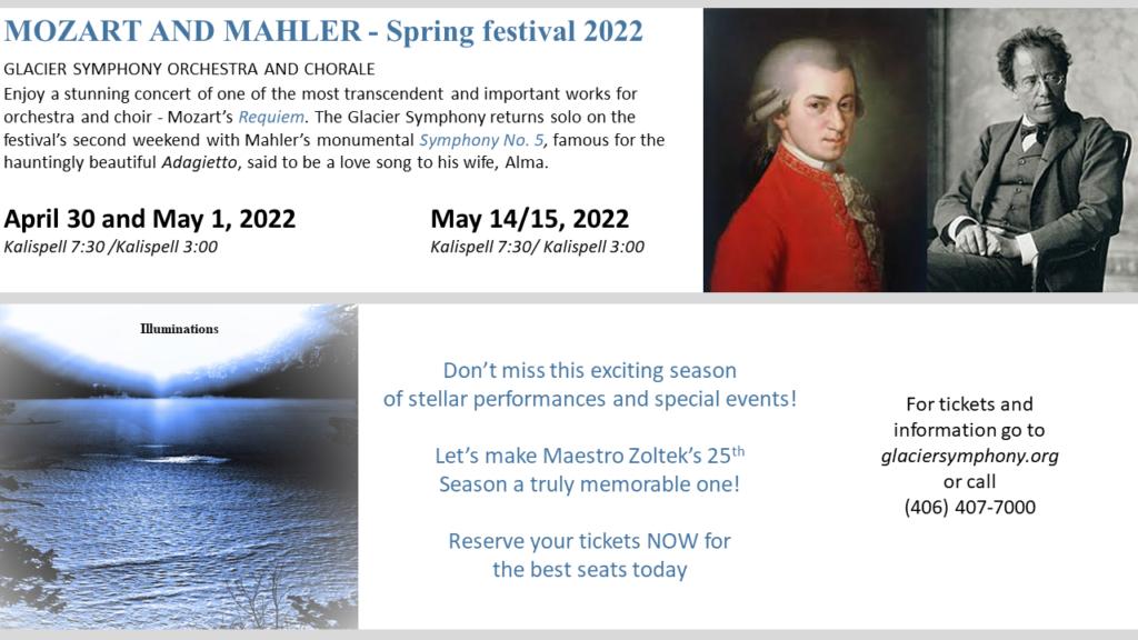 2021/2022 Season Preview - Glacier Symphony intended for Uri Spring 2022 Semester
