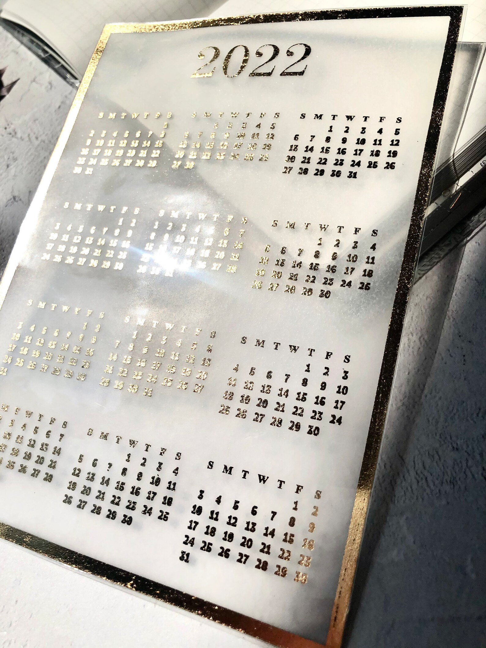 2022 Calendar Year To View Sunday Start Calendar Laminated within What Date Does Gcu Start 2022