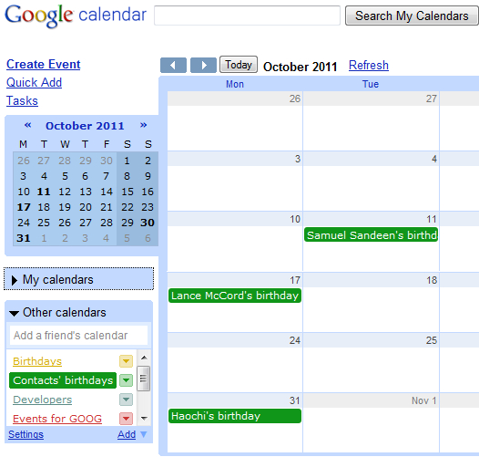Birthday Calendar For Google Contacts with Add Sunrise And Sunset To Google Calendar