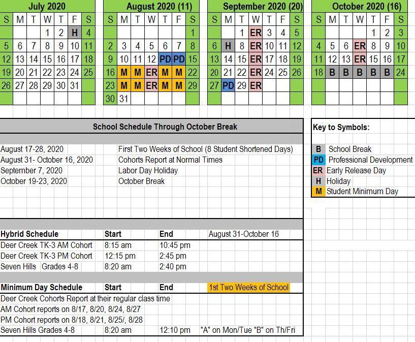 Deer Creek Schools Calendar 2021 | Calendar 2021 intended for Hunting Moon Calendar 2022