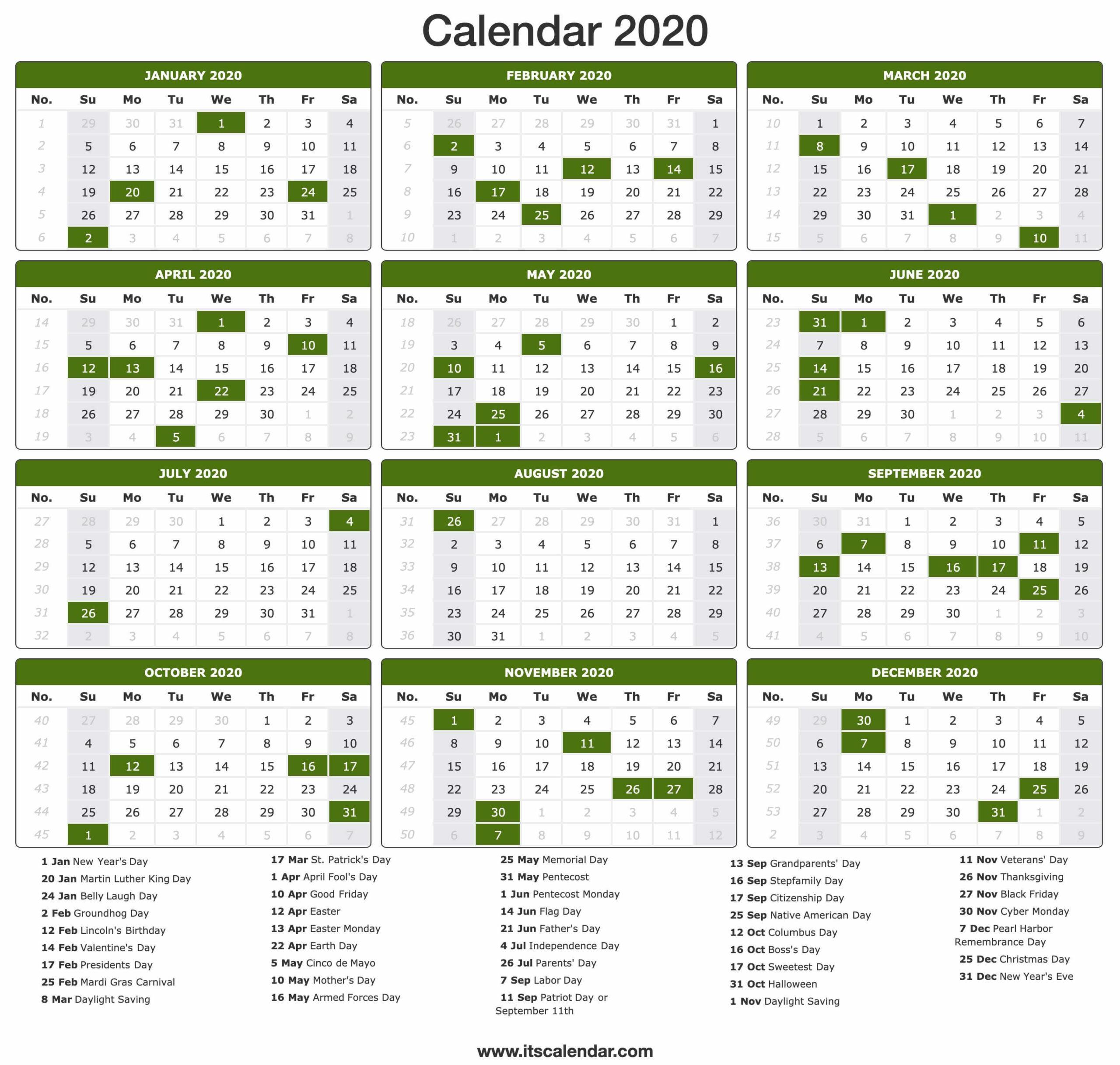 Federal Pay Period Calendar 2020 Printable | Calendar throughout Federal Payroll Calendar 2022