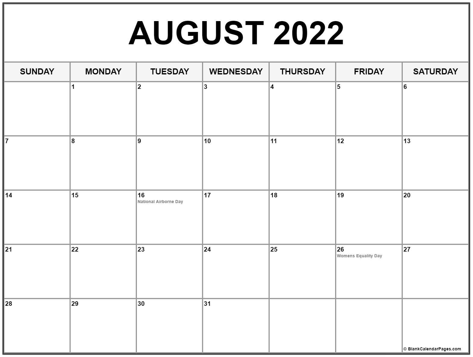 Free Printable Calendar For August 2022 - July Calendar 2022 throughout Fort Zumwalt 2022 2023 Calendar