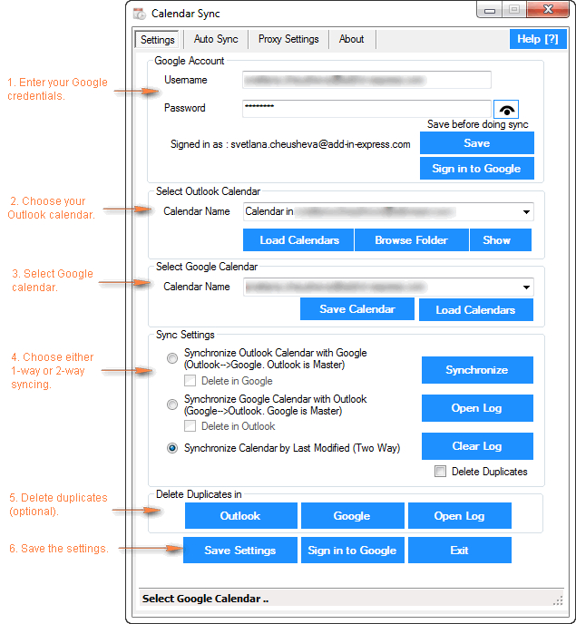 How To Sync Google Calendar With Outlook (2016, 2013 And 2010) in Add Sunrise And Sunset To Google Calendar
