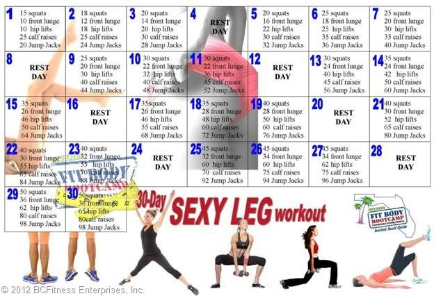 Pin On Health And Fitness pertaining to Butt And Leg Challenges