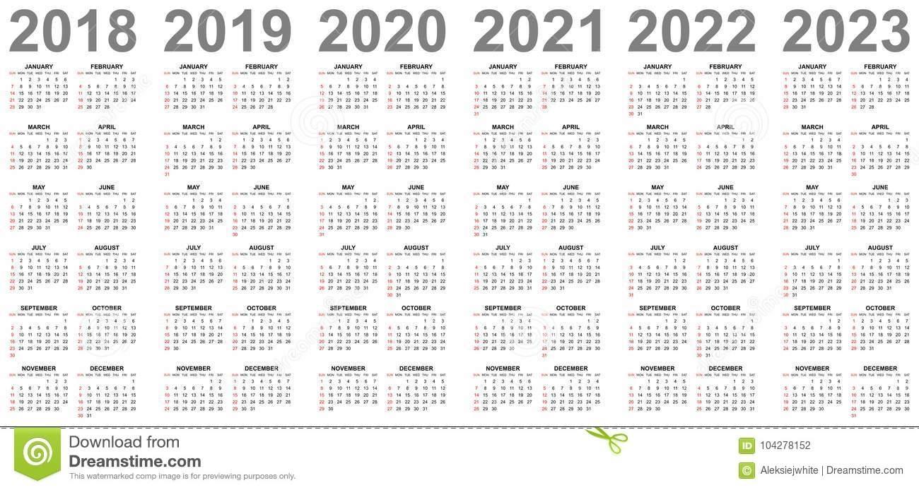 Printable Calendar For 2019/2020/2021/2022/2023 - Calendar throughout 4 5 4 Retail Calendar 2022 2023
