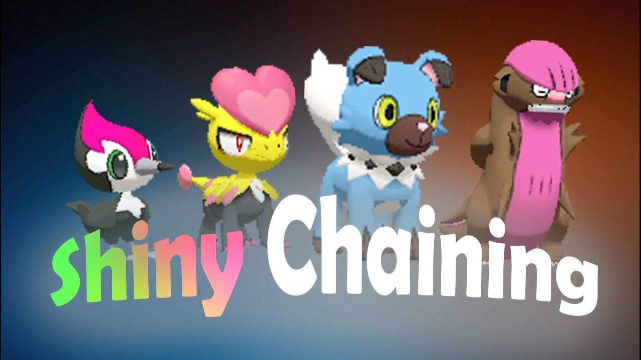 Shiny Chaining Guide - Easy Shiny Hunting Method (Pokémon throughout Hunting Moon Guide Chart