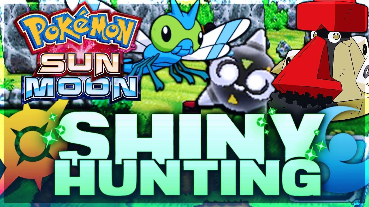 Shiny Hunting - Pokemon Sun And Moon (W/ 2 Consoles) Shiny within Hunting Moon Guide Chart