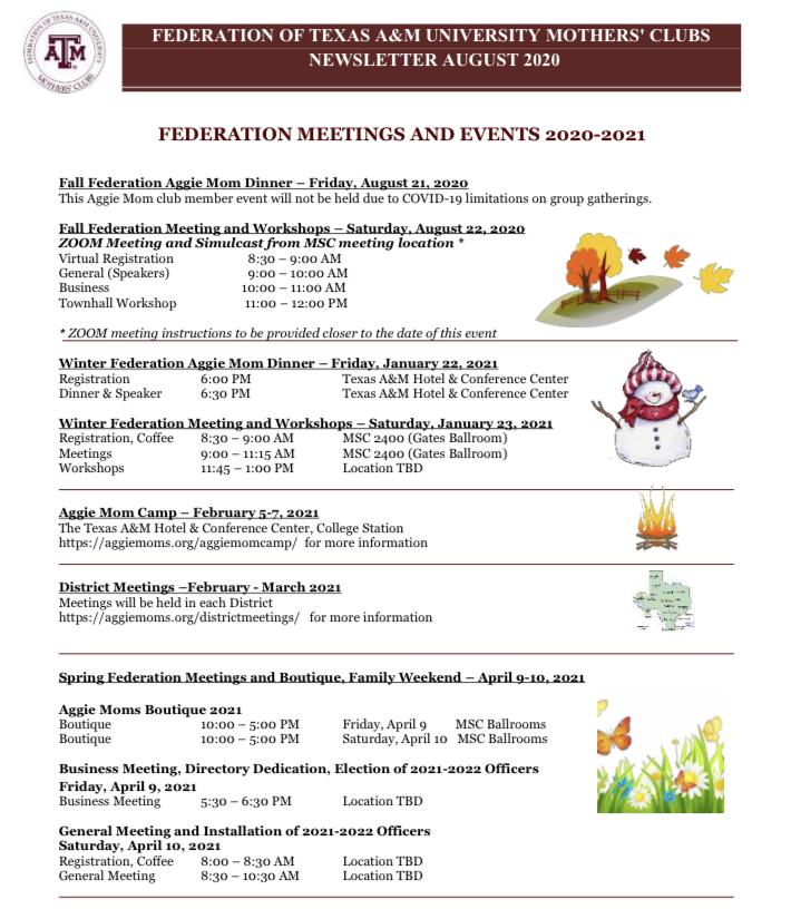 Tamu 2021 2022 Calendar - December October 2021 pertaining to 1St Monday Canton Texas 2022 Calender