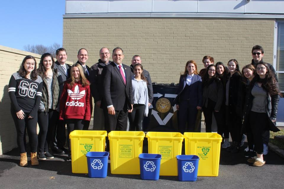 Town Of Oyster Bay Brings Single Stream Recycling To Local throughout Town Of Oyster Bay Sanitation Schedule 2022